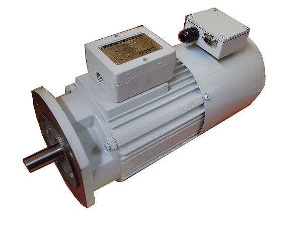 Motor Spindle Induction 3HP with Encoder for 2-OP 6000 RPM