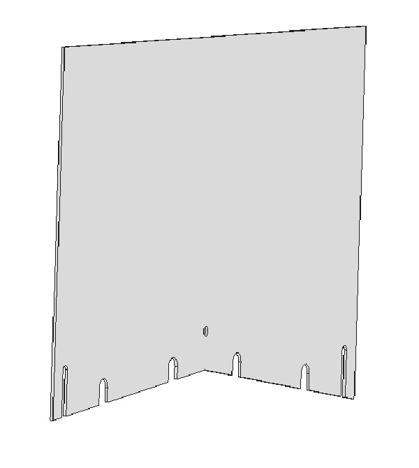 Rear Table Guard for 2-OP