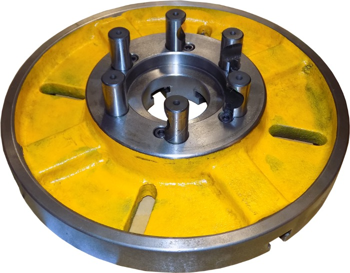 """14"""" 350mm D1-6 Faceplate For XYZ 1550 Lathe"""