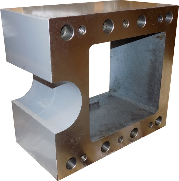 250mm Bed Mill Riser Block for 4000 & 5000