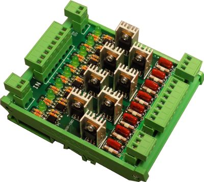 8 Way Solid State Relay Block for CT 52, 320 LTY & M/C Ctrs