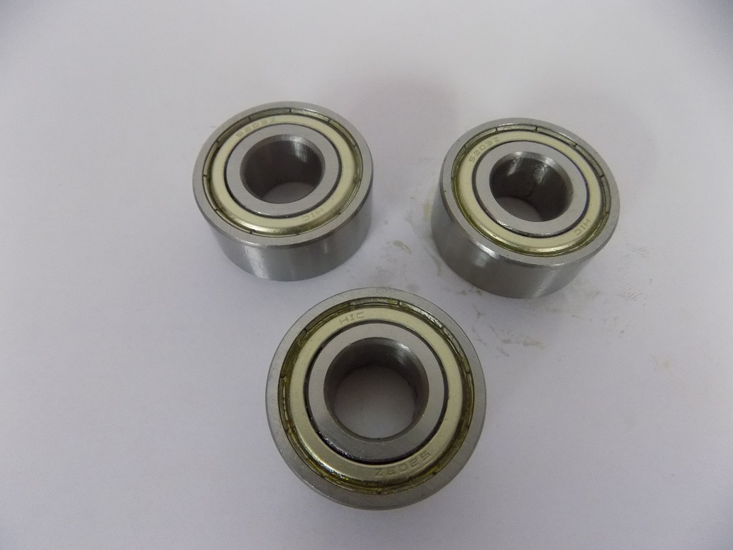 Set 3 Bearing for Fixed Steady For 555 3m Lathe