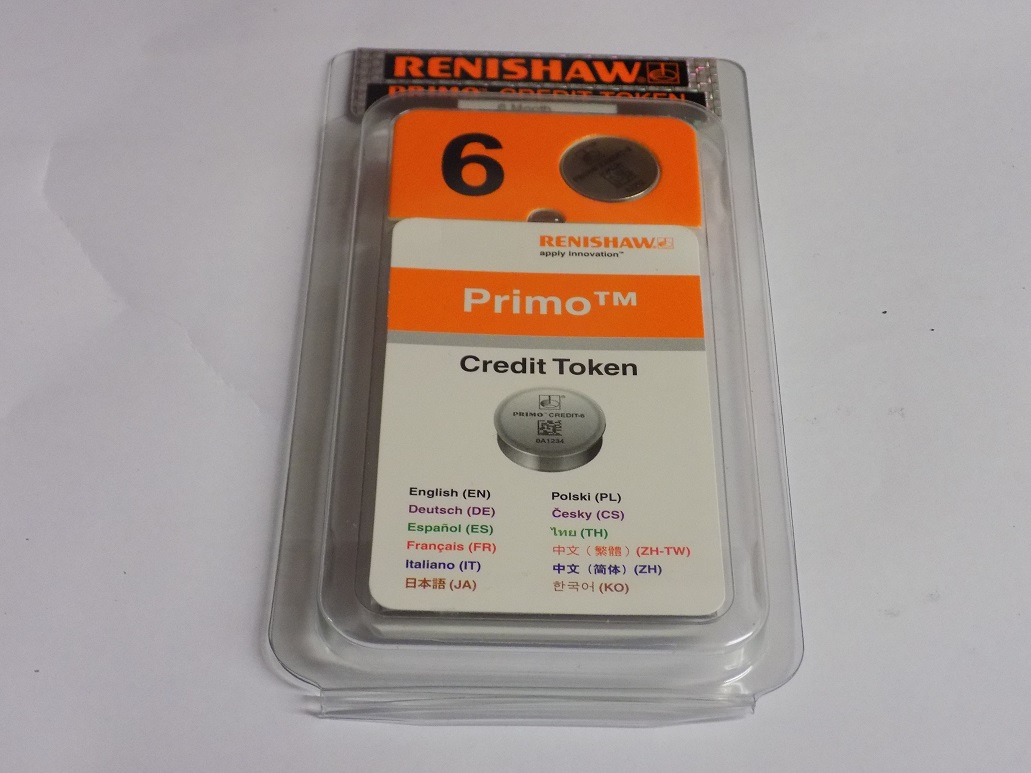 Renishaw Primo 6 Month Credit Token