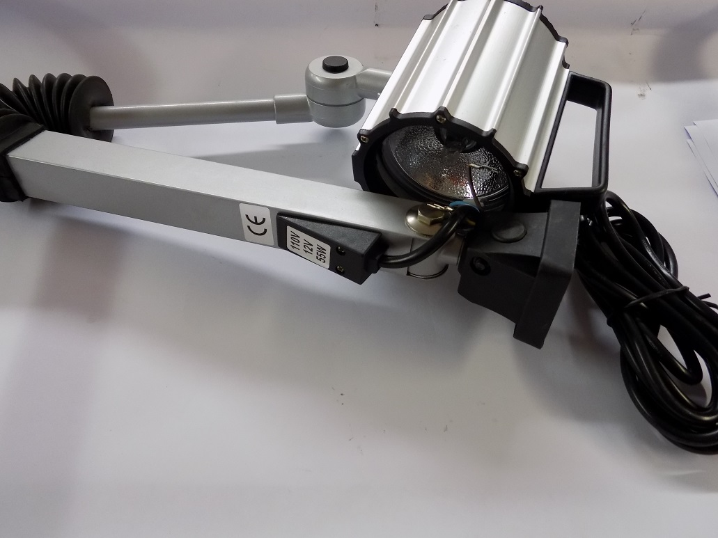 110 Volt Halogen Lamp Fitted To Saddle XL 1100