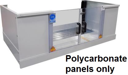 Polycarbonate Window Set For Metal Guard SMX 5000