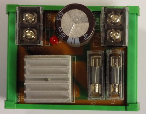 Power Supply Relay PCB CT 52 A-256-009 J81-0709