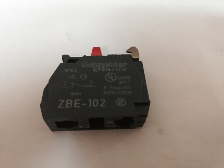N/C Contact Block Only (Slice) ZBE-102
