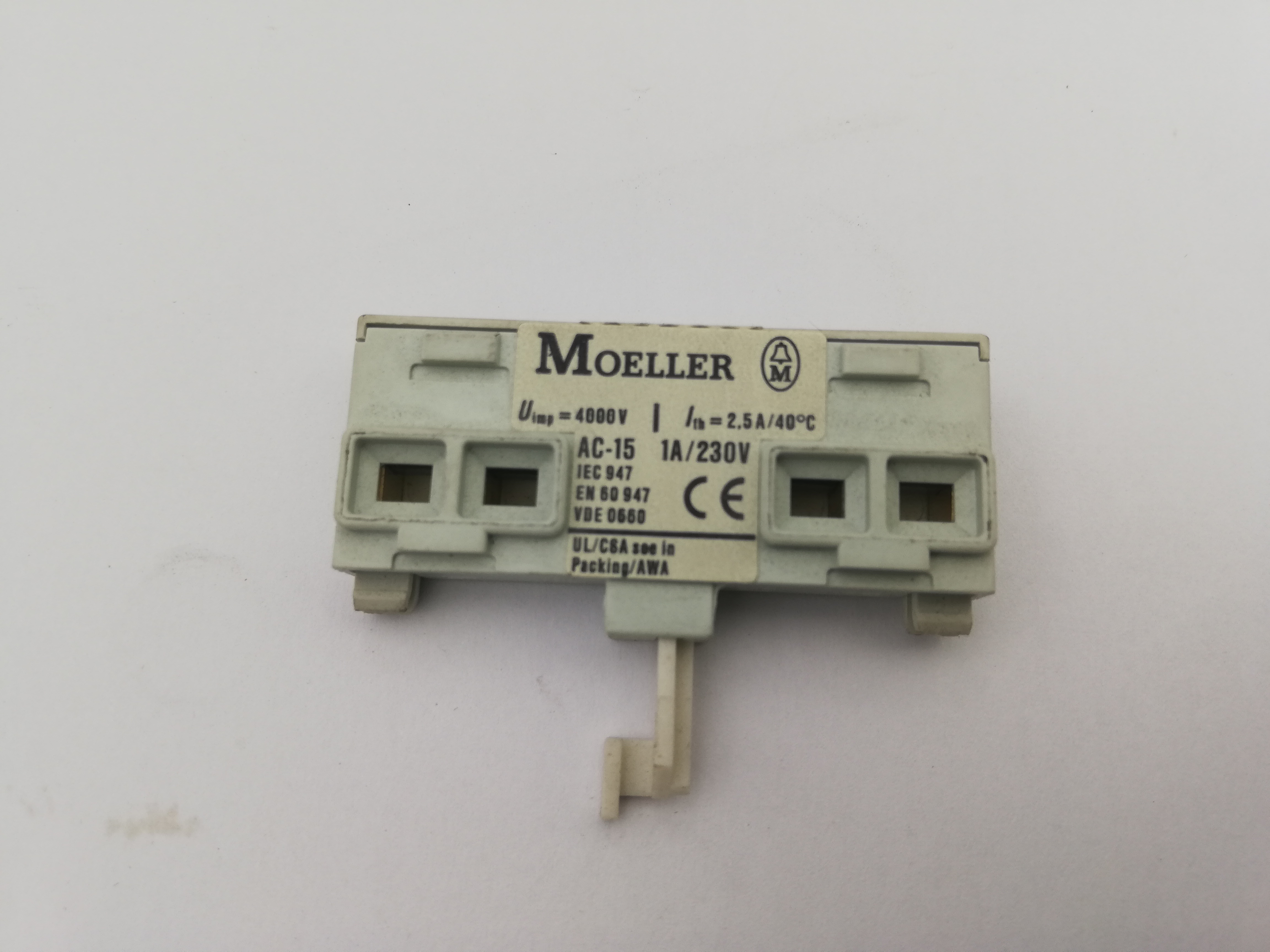 Aux Contact For P/N:8475 For Mini Mill 560 Ref: 082882