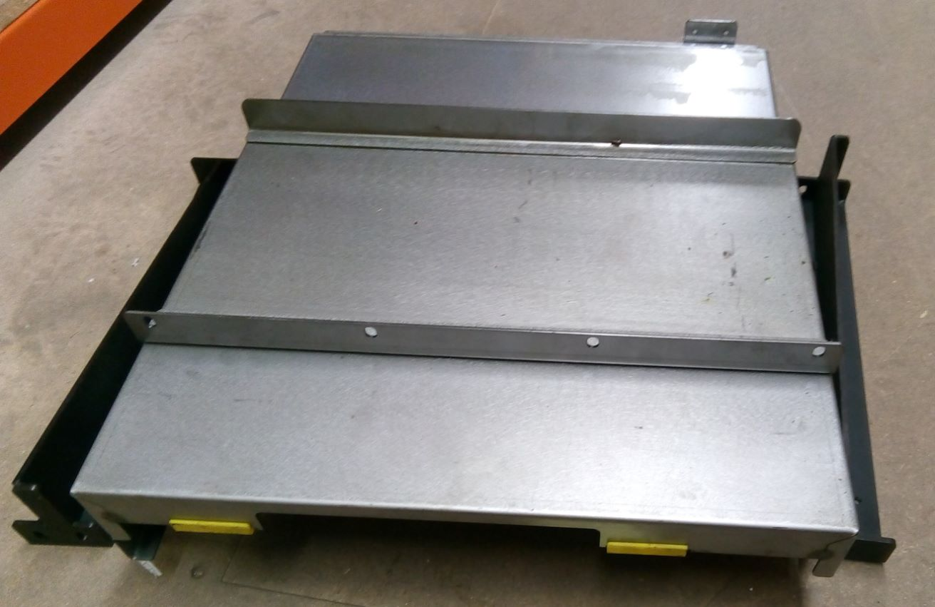 X Axis Slideway (Dust) Cover - Right, For XYZ 810