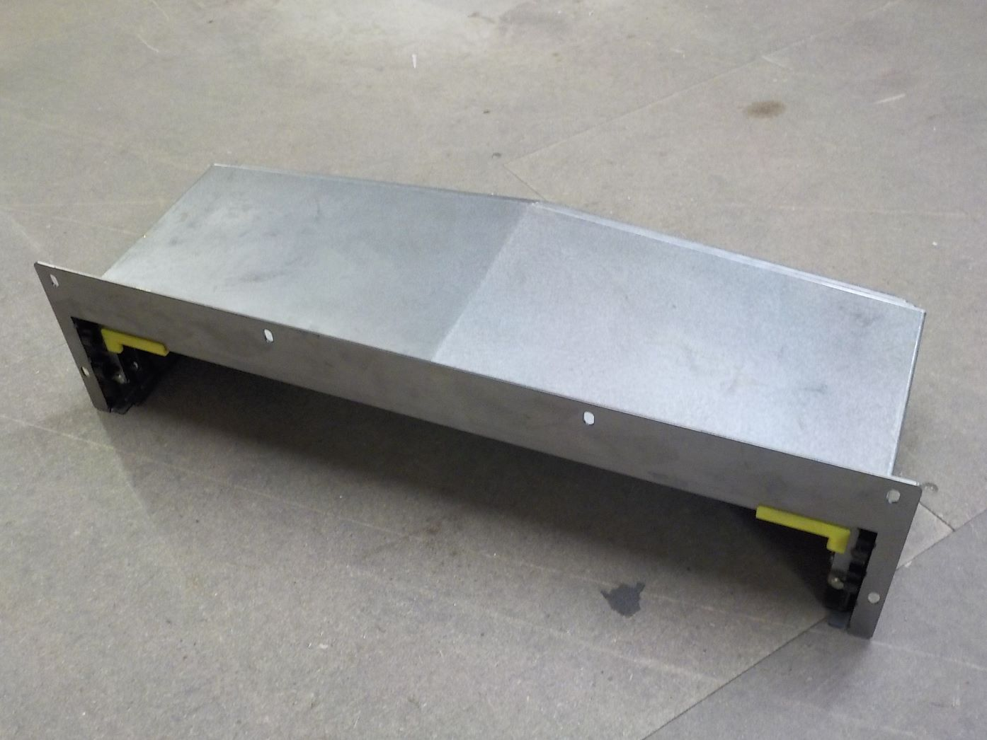 Y Axis Slideway (Dust) Cover - Front, For XYZ 610 / 810