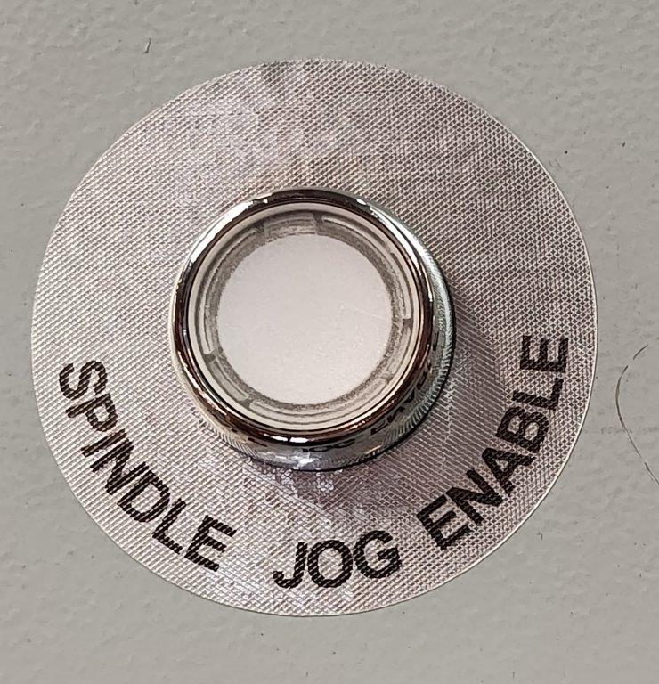 Spindle Jog Enable Button ( White ) For RLX 780