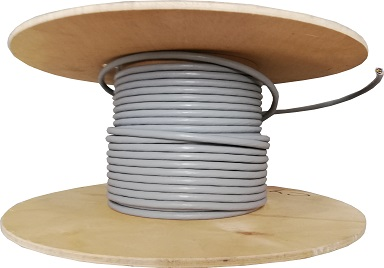 Grey 5 Core Cable Numbered Screened 0.5mm Per Metre