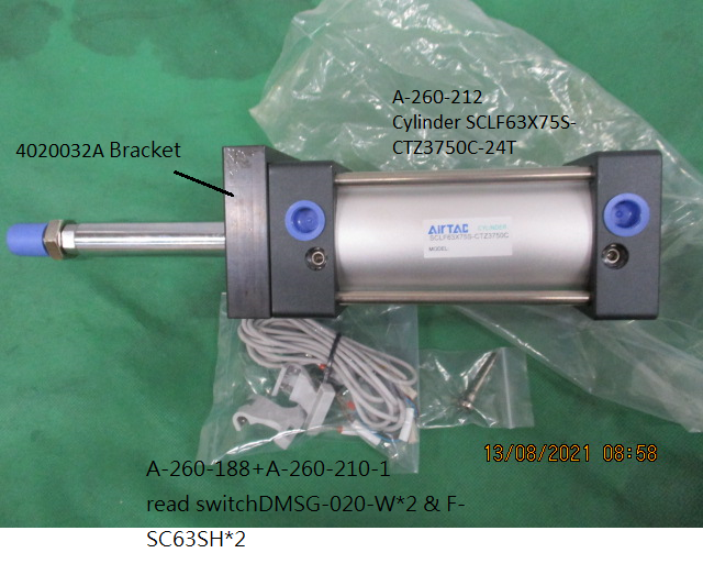 Air Cylinder For Pocket Up And Down 560 / 710 Arm Changer